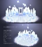 氷と額縁のステージ【ステージ配布】