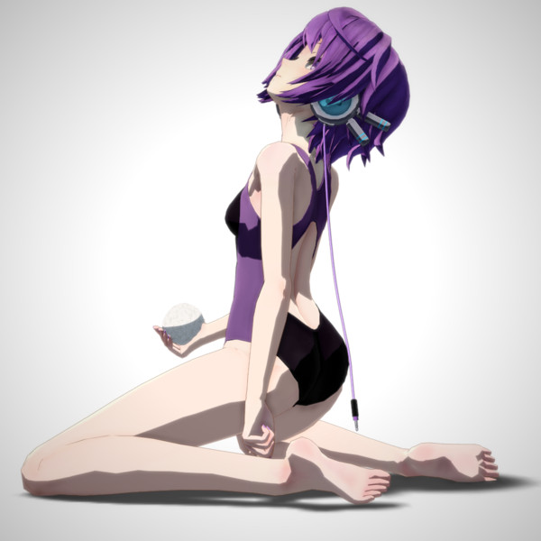 【MMD】デフォ子 In the Shell