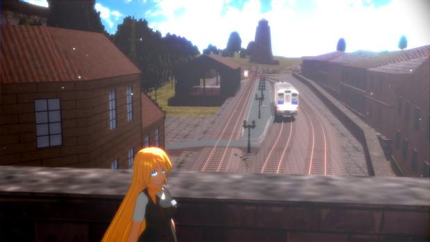 【MMD鉄道】リベルニア駅に来ました 01【鉄道むすめ】