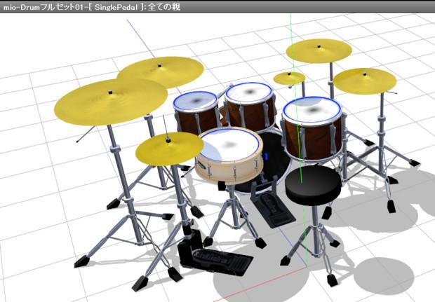 mio-ドラムセット2017 [ v01 ]