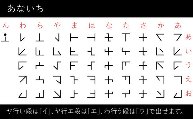 天名知鎮(アナイチ文字)フォン...