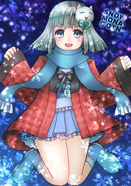 雪モナコインちゃん