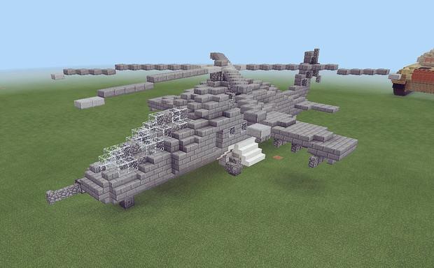 【Minecraft】Mi-24Dハインド改修
