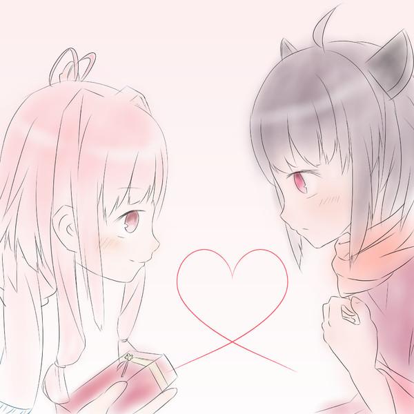 きりあかのバレンタイン