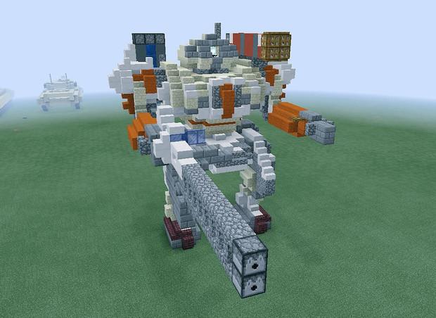【Minecraft】新型機動兵器