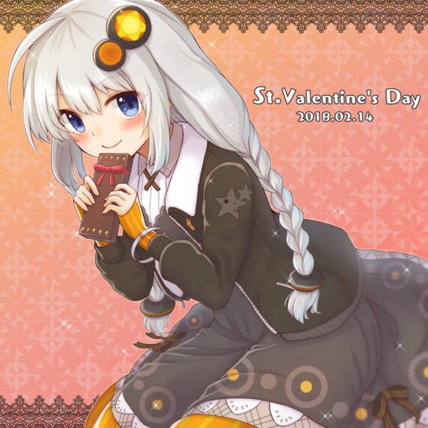 あかりちゃんからのバレンタインチョコです。