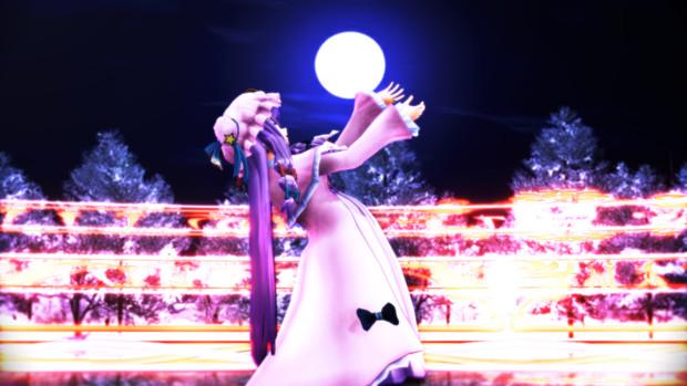 魔女と月と魔法陣