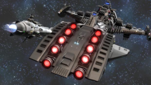 【ヤマトMMD】巡洋艦対超巨大戦艦