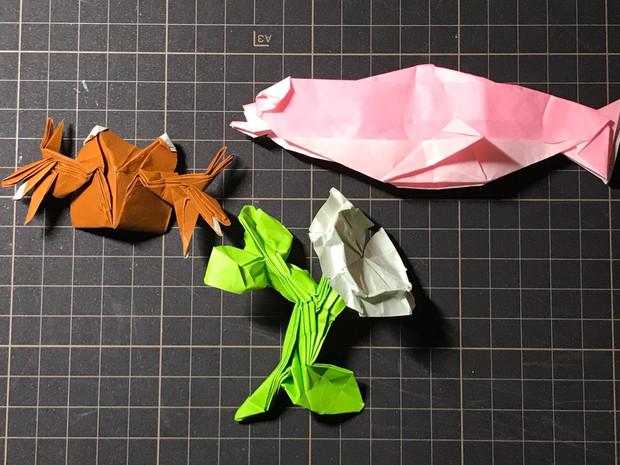 即興創作折り紙12