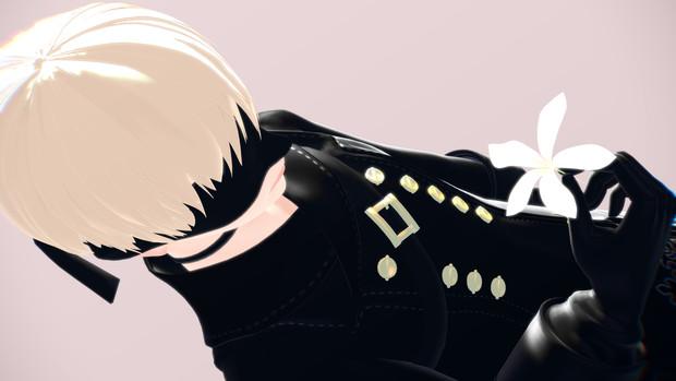 【アクセサリ配布】月の涙っぽい髪飾り
