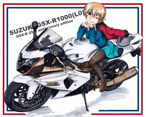 SUZUKI GSX-R1000 25th anniversary edition