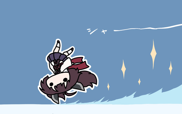 アイススケートきりたん。