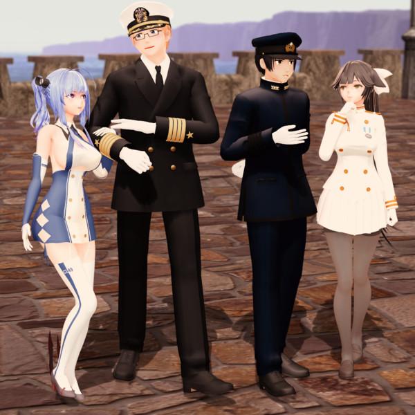 【MMD】あゝ海軍