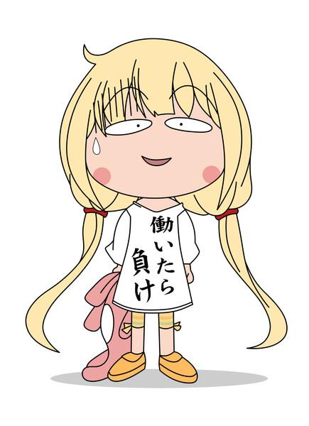 デレステ杏さん(ちびまる子ちゃん風味)