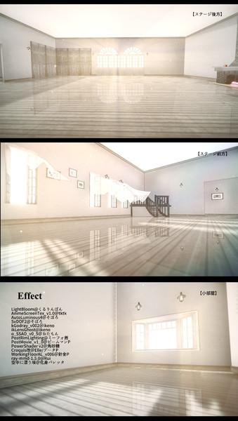 【配布】カーテンのある部屋Vr.03【配布終了】