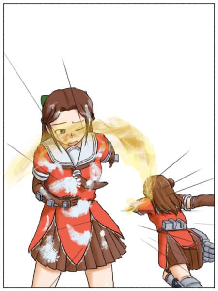 小説20巻目の挿絵5枚目