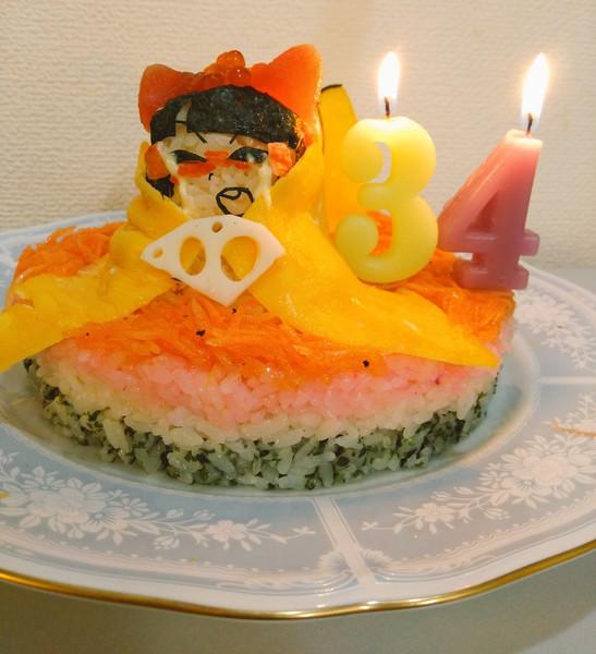 ひな祭り☆.happy Birthday2500