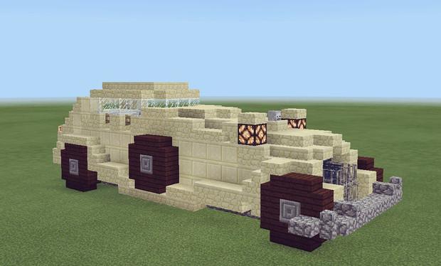 【Minecraft】新型車両 自動車