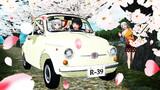 ぬえみょん桜道ドライブ