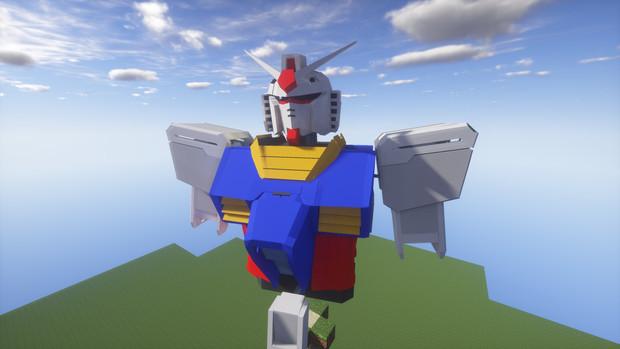 Minecraft」対戦用機体作成中3「jointblock