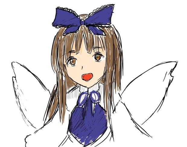 東方projectのスターサファイアちゃん