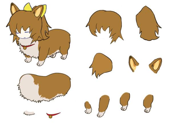 犬と化したDIYUSI.ein