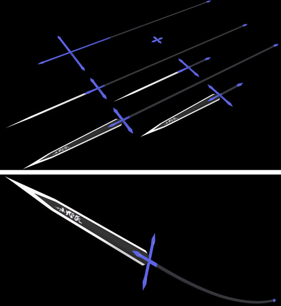 【MMD】ルーミアの剣 「漆黒の大剣」風 配布します