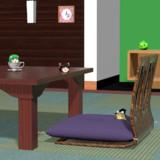 【Blender】和室とゆっくりさん