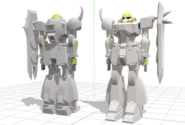 成型中、ZGMF-1000&1001