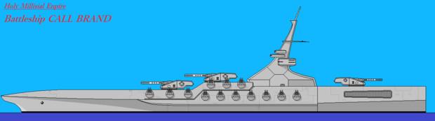 ミスリル級戦艦 カラー