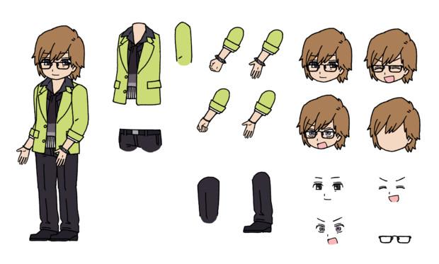 千賀風Shinnosuke 透過png版