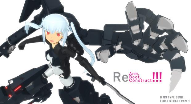 【MMD神姫】 ストラーフver1.1 モデル配布