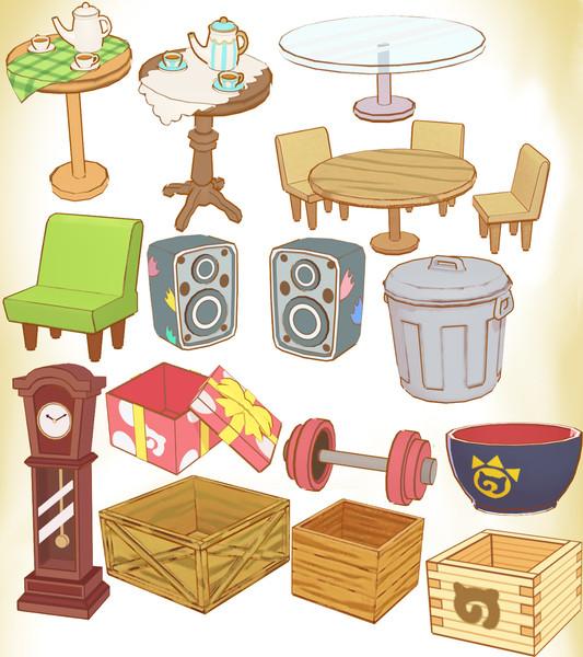 ぱびりおん家具セットver2.0