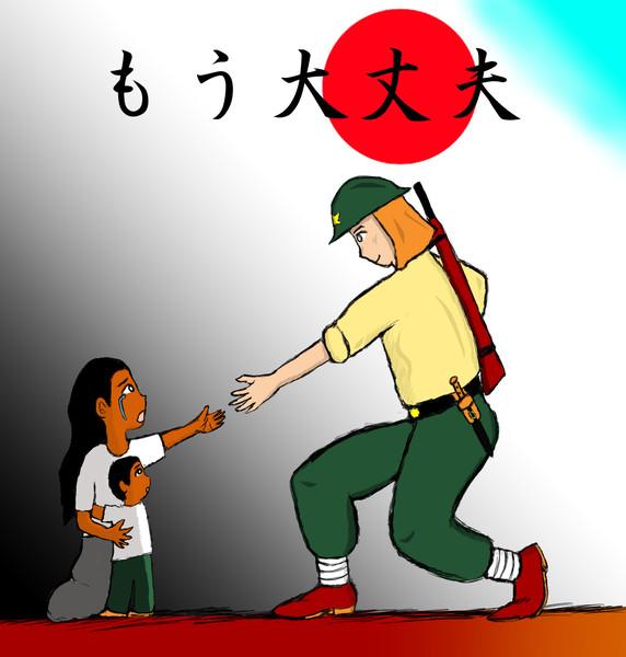 日本軍のアジアにおける欧米支配の解放と独立支援
