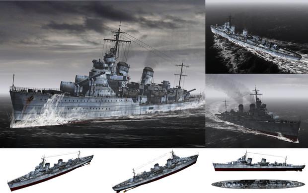 MMD用モブ駆逐艦1939(モブケント)セット