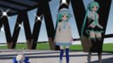 stage_nb07 (回る回廊)(MMDステージ・歩行モーション配布)