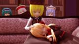 ルナ姉の膝枕