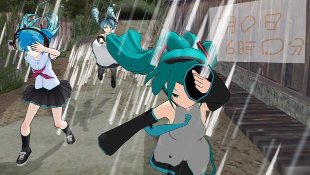 【MMD静画甲子園応援作品】MMDerのみなさん嵐の中で輝いて