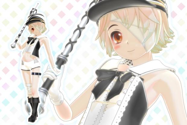【MMD】オリバーくん衣装追加とか ※女装?注意【モデル配布】