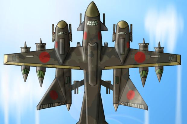 超巨大レーザー攻撃機