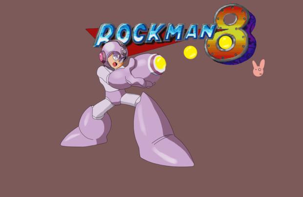 ゆかりの豆縛りロックマン8アイキャッチ風