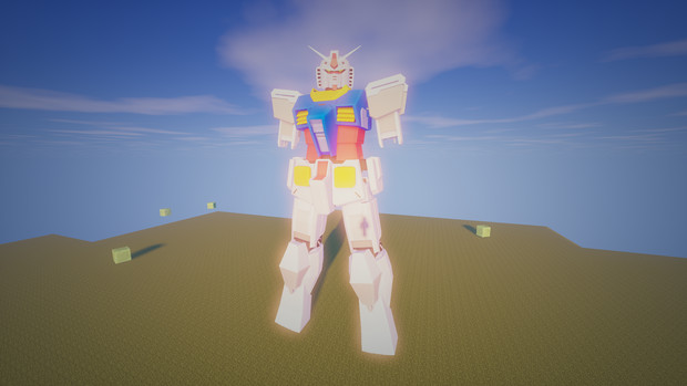 Minecraft」対戦用機体作成中7「jointblock