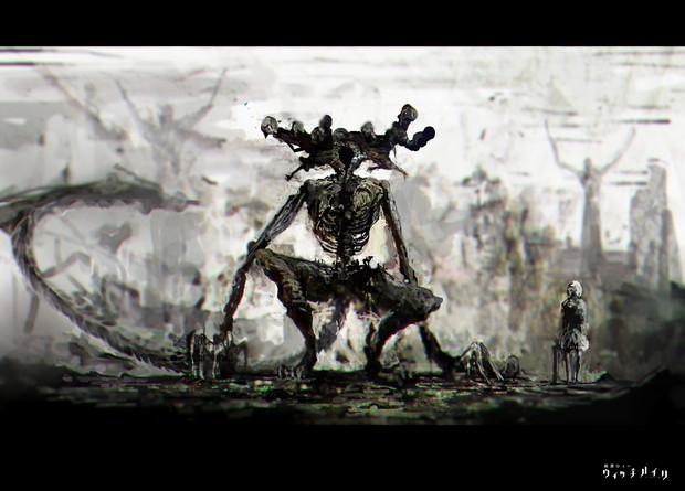 魔物 子畑 さんのイラスト ニコニコ静画 イラスト
