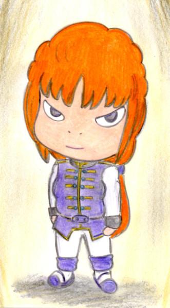 奈良美智先生っぽいマリーダさん 狐火 さんのイラスト ニコニコ静