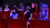 【MMDアズレン】みんなで映画!【MMD艦これ】