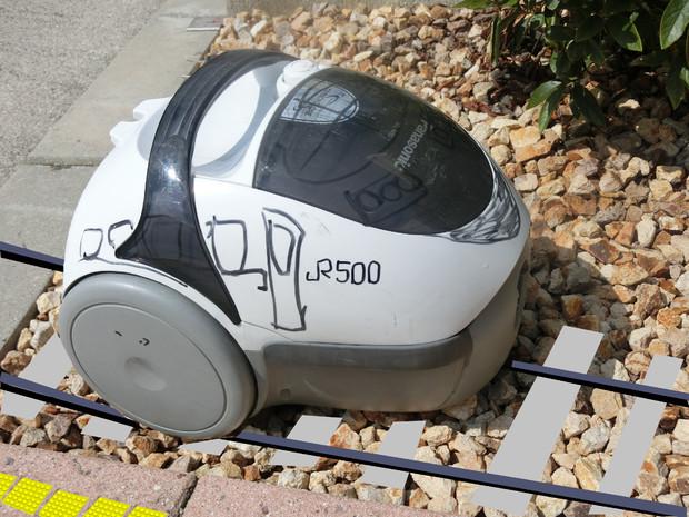 JR西日本500系掃除機