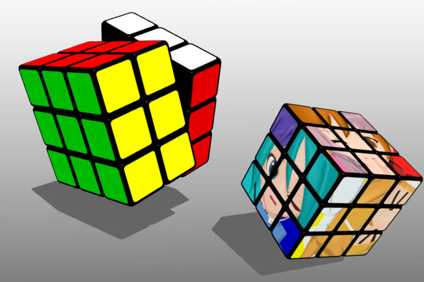 【MMD-OMF8】ルービックキューブ