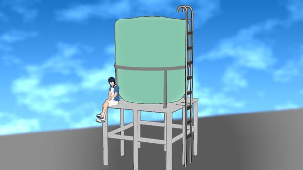 【MMD-OMF8】給水塔