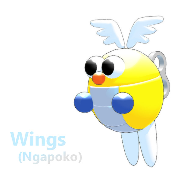 【MMD-OMF8】ンガポコ 【モデル配布】
