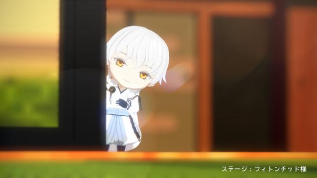 【MMD-OMF8】ねんどろ風鶴丸モデル配布